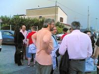 Tommaso Esposito parla col sindaco di Acerra