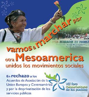 Poster del VII Foro Mesoamericano