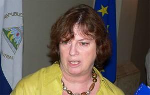 La delegata della Commissione Europea Francesca Mosca (© Foto G. Trucchi)