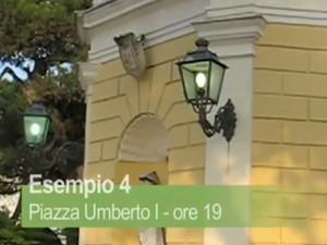 San Ferdinando di Puglia - Luci accese anche di giorno.