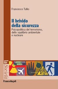 """Copertina libro """"Il brivido della sicurezza"""""""
