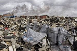 Ghana: rifiuti tecnologici