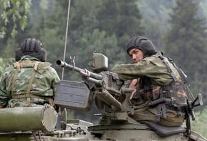 Truppe russe in Georgia