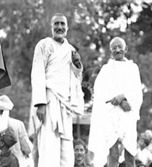 Gandhi con Abdul Ghaffar Khan