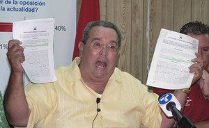 L'ex presidente Arnoldo Alemán continua a dire di essere innocente (© Foto G. Trucchi)