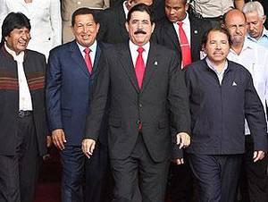 I presidenti dell'ALBA (Foto END)