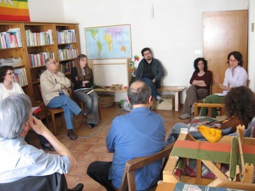 Incontro Nazionale Redazione Quaderni Satyagraha presso la Casa per la nonviolenza - 4 maggio 2008