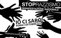 Logo della manifestazione antirazzista del 4 ottobre 2008