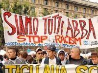 Manifestazione a Milano per Abdul