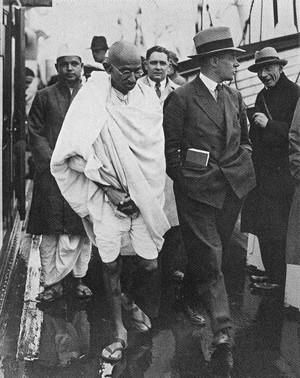 Gandhi in Inghilterra