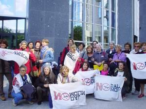 Delegazione del Gruppo Donne NO DAL MOLIN per la PACE a Bruxelles, Parlamento Europeo
