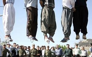 Pene di morte in Iran nel 2007