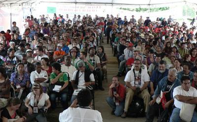 Cittá del Guatemala: assemblea conclusiva del FSA (© Foto G. Trucchi)