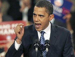 Barack Obama comizio