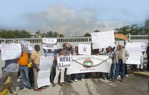 Protesta lavoratori e lavoratrici Nestlé (Foto UITA)