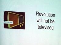 Revolution will not be televised - conferenza con esperienze di radio alternative
