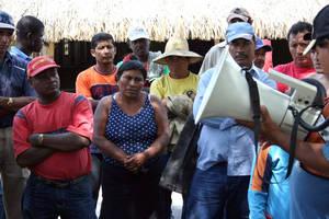 Corteros in sciopero (Foto corteros.blogspot.com)