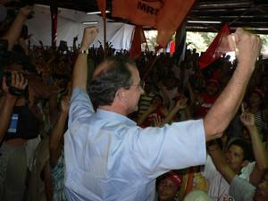 Eduardo Montealegre si dichiara vincitore (© Foto G. Trucchi)