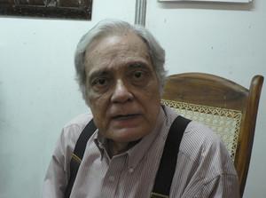 El historiador y analista político Aldo Díaz Lacayo (© Foto G. Trucchi)