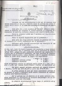 Assunzione di Paolo Sabbetta all'Ente per la Colonizzazione della Libia presso il Centro Agricolo L. Razza.