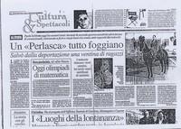 Articoli su Paolo Sabbetta