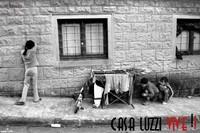 Uno scatto di Giulio Di Meo, autore di una mostra fotografica sull'occupazione del Luzzi