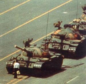 Azione nonviolenta a Pechino, 1989