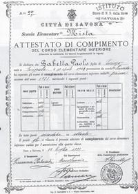 Licenza elementare