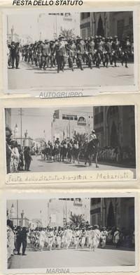 Tripoli 1932. Festa dello Statuto, parate varie. (2° La febbre dell'avventura)