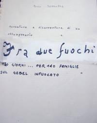 "Frontespizio memoriale ""Fra due fuochi"""