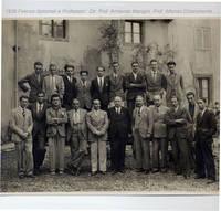 Firenze. Diplomati del 1936 (4° Fra due fuochi)