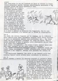 Diario. Saccheggi degli arabi e prigionie delle forze belligeranti investono i coloni (4° fra due fuochi)