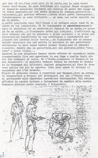 Diario. Vicenda riguardante il ferimento di Dumini(4° Fra du fuochi)