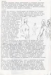 Diario Pg. 2 Vicenda riguardante il ferimento di Dumini (4° fra due fuochi)