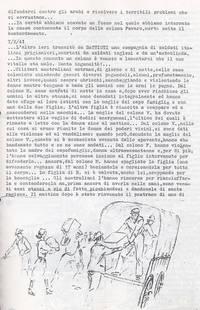 Diario Episodio di scabrose violenze a danno dei coloni ( 4° Fra due fuochi)
