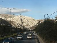 Le montagne nude intorno a La Oroya