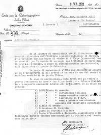 Borsa di studio per destinazione in Cirenaica (4° fra due fuoch)i