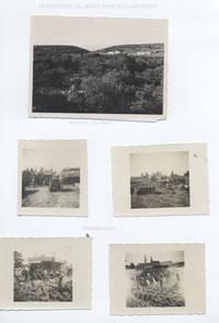 Entecol villaggio agricolo L. Razza, poderi colonici e momento della trebbiatura (4° fra due fuochi)