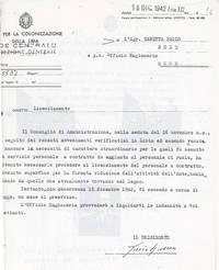 Licenziamento dall'Entecol (4° fra due fuochi)