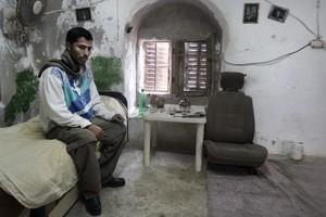 Casa palestinese dopo i bombardamenti