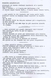 Diario Freddure Mogadisciane pg 1 (6° Eccidio di Chisimaio)