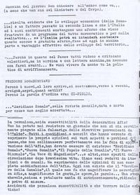 Diario. Freddure Mogadisciane pg. 3 (6°  Eccidio di Chisimaio)