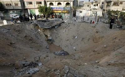 Bomba a Gaza