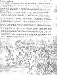 Diario Sabbetta addentrato nelle usanze somale racconta una promessa di matrimonio (7° Alias Mohamed nella boscaglia somala)