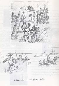 Schizzo Sabbetta nella boscaglia sul fiume Giuba (7° Alias Mohamed nella boscaglia somala)