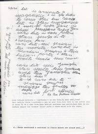Diario Sabbetta è costretto a rimpatriare e Fatma Muddhei gli scrive in Italia (7° Alias Mohamed nella boscaglia somala)