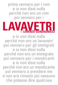 """Copertina del libro di Lorenzo Guadagnucci """"Lavavetri"""""""