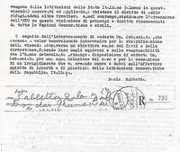 Lettera descrittiva dei fatti all'Ambasciata italiana pg. 2 (8° Asilo Politico)