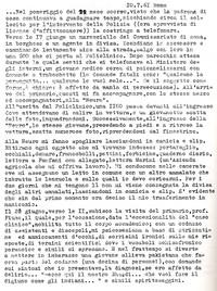 Diario Sabbetta internato in manicomio pg. 1 (10° Il Manicomio facile)