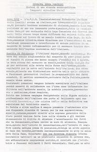 Diario Condanna a vita senza processo pg.1 (11° memoriale j'accuse)